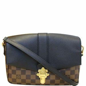 LOUIS VUITTON Clapton PM Damier Ebene Shoulder Bag